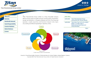 Titan Corporate Website Development