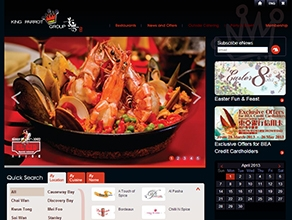 King Parrot Group Corp Website Revamp