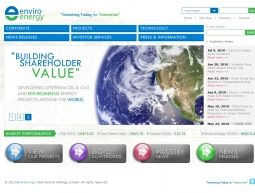 EnviroEnergy International Holdings Limited Corporate Website