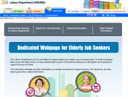 Labour Department for elderly job seekers