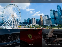 Auto Italia Website Development