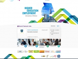 Design for e-Platform for Higher Education Employment Information